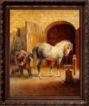 «Коваль с булонской лошадью»